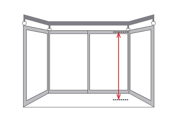 カウンター窓(出窓)