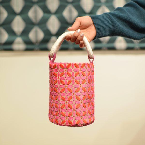 ハンドメイドバッグの写真